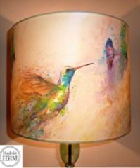 Hummingbird Lampshade By Sally Goodden - (from £35 to £70, depending on size) plus £6.50p+p