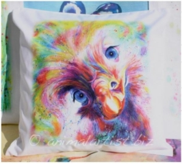 Ostrich Cushion Cover By Sally Goodden - £18 plus £2.50p+p