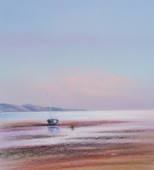 Safe Haven By Graham Cox - 30cm x 30cm square framed and double mounted £75.00