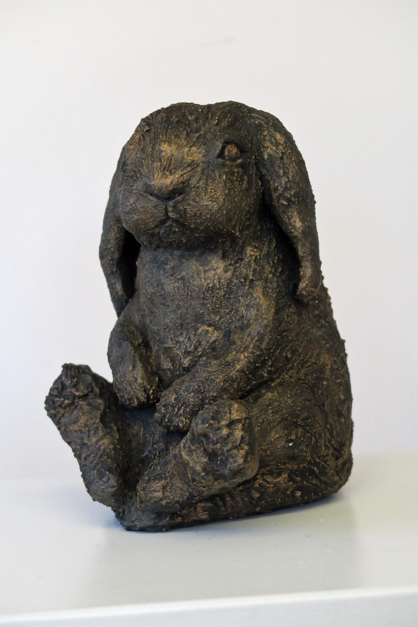 Rabbit By Anne Swatton - Ceramic - 8in high - £60