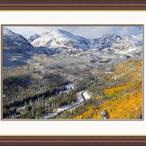 Bierstadt Lake Trail in Autumn by Laura holm – Photograph – 30 x 20 in – £275